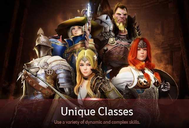 black desert online classes