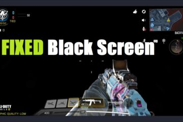 fix black screen gameloop