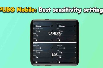 PUBG Mobile sensitivity