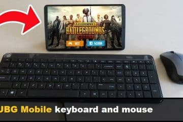 PUBG Mobile keyboard and mouse